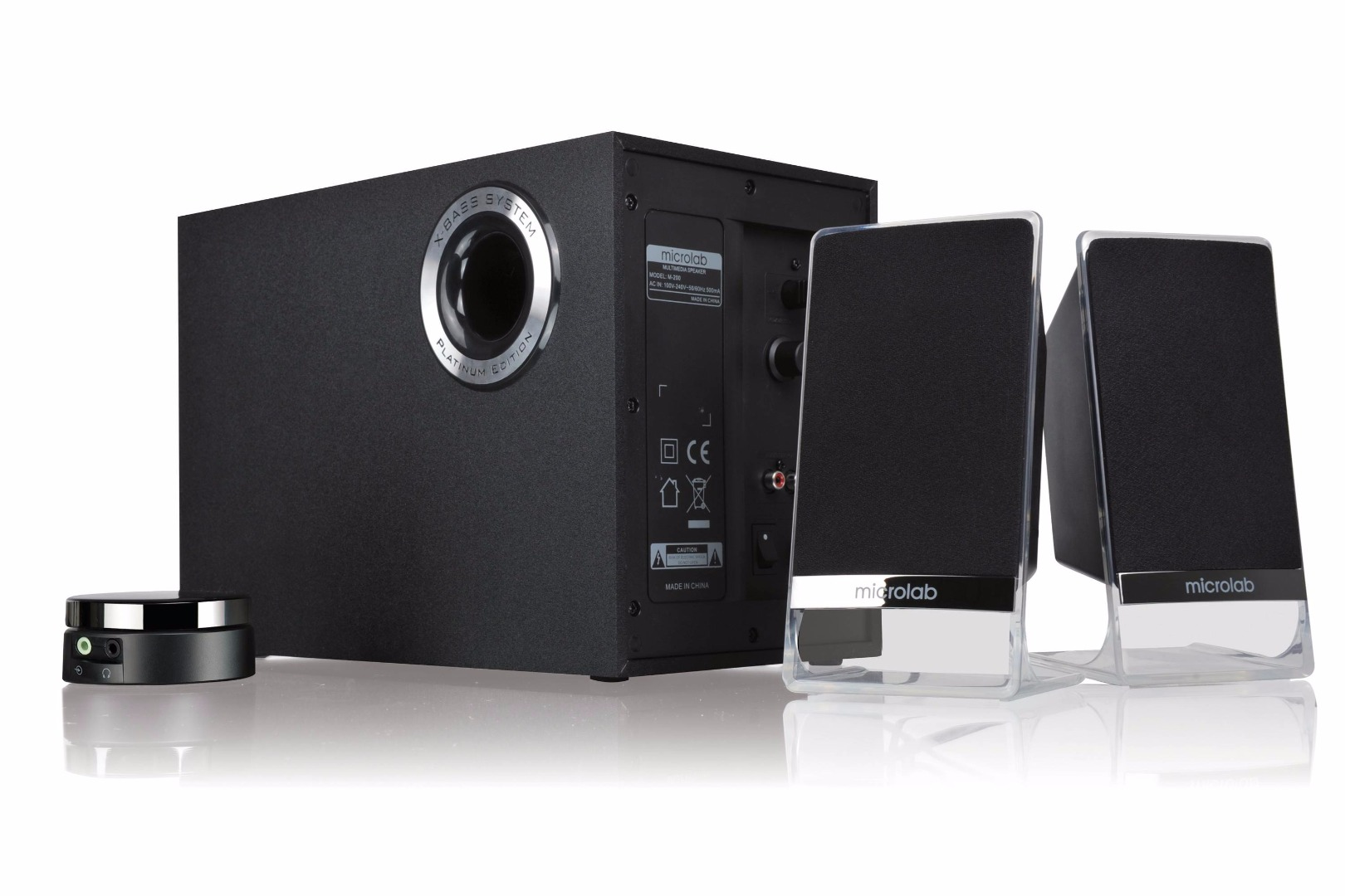 Microlab M 200 2 1 Bluetooth Speaker Computer Zone